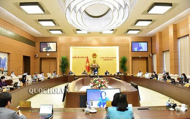 Bế mạc Phiên họp thứ 44 của Ủy ban Thường vụ Quốc hội