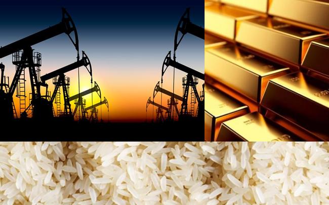 Thị trường ngày 3/4: Giá dầu tăng vọt hơn 24% sau phát biểu của Tổng thống Trump, gạo cao nhất 7 năm, cao su vẫn 'đáy' 11 năm