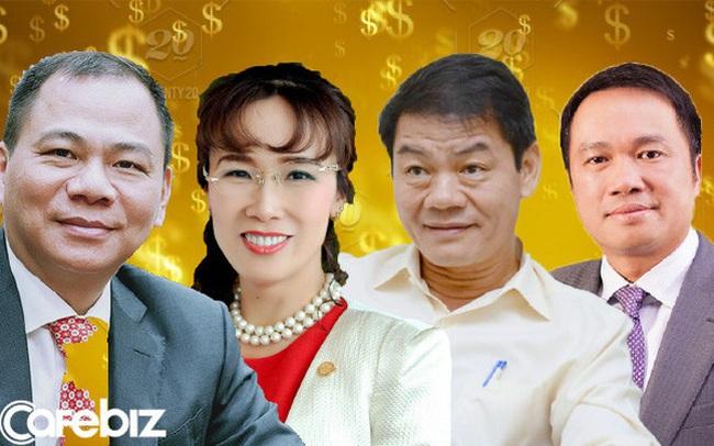 Việt Nam có 4 tỷ phú trong danh sách 2020 của Forbes, tổng tài sản 10,2 tỷ USD