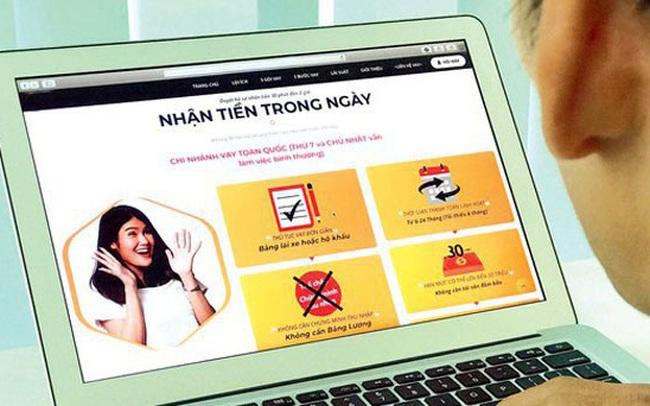 """Thiếu thông tin, nhiều người tiêu dùng dính """"bẫy"""" cho vay trực tuyến"""