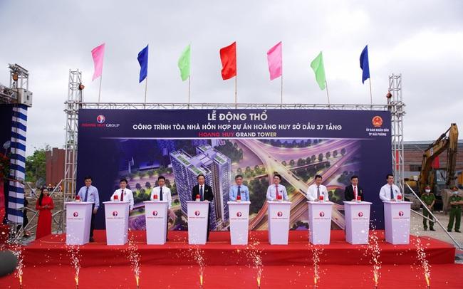 TCH: Khởi công dự án mới Hoang Huy Grand Tower tại Hải Phòng