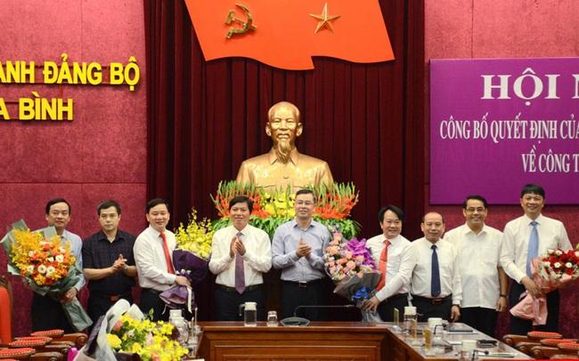 Hòa Bình bổ nhiệm nhiều lãnh đạo chủ chốt