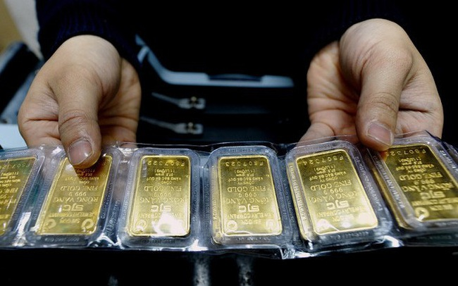 Giá vàng tiếp tục tăng mạnh, lên gần 49,5 triệu đồng/lượng