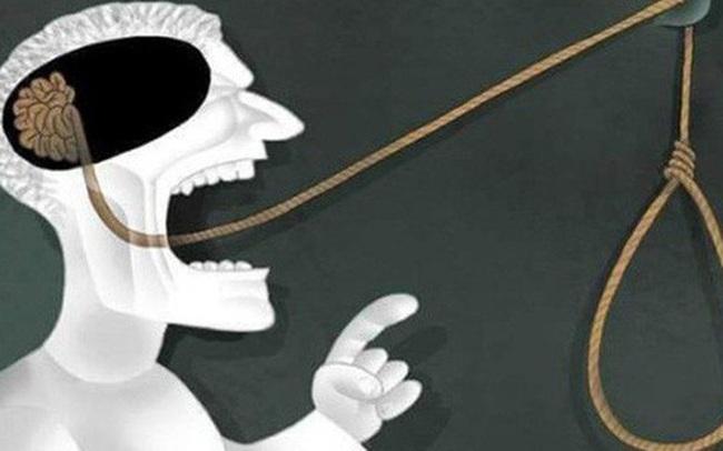 """Người khôn ngoan luôn tránh lỡ lời bằng mọi giá, kẻ xuẩn ngốc tưởng mình thông minh nhưng dễ biến lời nói thành """"dây treo cổ chính mình"""""""
