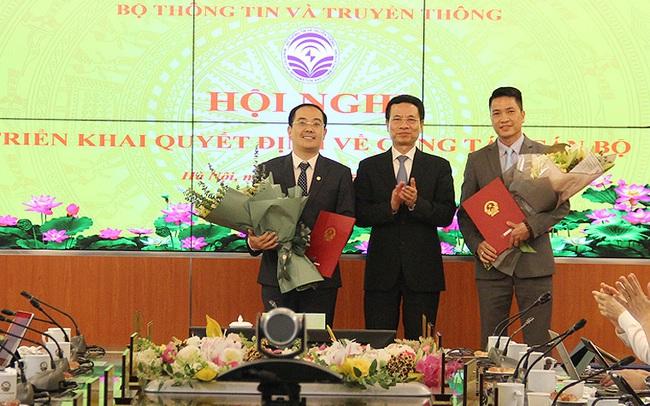 Bộ TT&TT điều động và bổ nhiệm hai Phó cục trưởng Cục Thông tin đối ngoại
