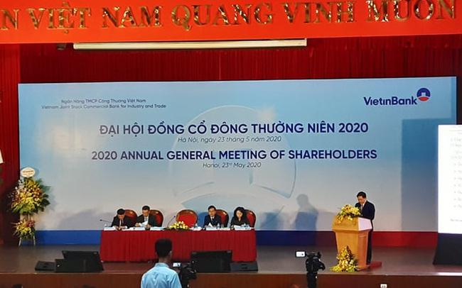ĐHĐCĐ VietinBank: Đề xuất giữ lại lợi nhuận để tăng vốn, bầu 3 nhân sự mới vào HĐQT