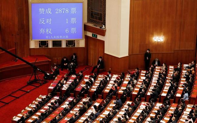 Trung Quốc thông qua dự luật An ninh quốc gia cho Hồng Kông, căng thẳng với Mỹ gia tăng