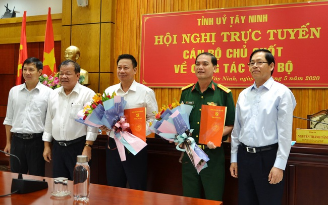 Ông Nguyễn Thanh Ngọc giữ chức vụ Phó Bí thư Tỉnh uỷ Tây Ninh