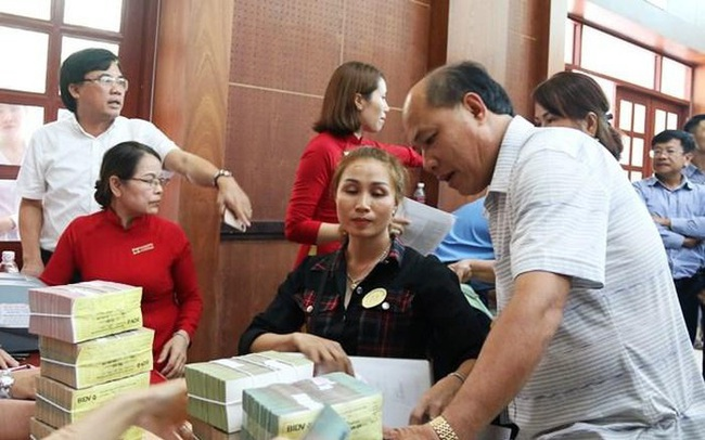 Người dân nhận hơn 170 tỷ đồng tiền đền bù dự án Sân bay Long Thành