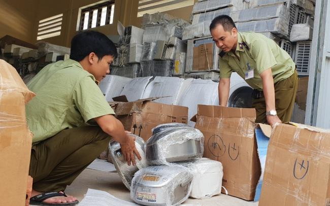 Bắt giữ gần 1000 sản phẩm máy, điện lạnh nhập lậu đã qua sử dụng