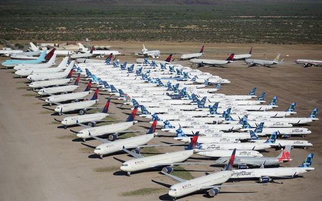"""Phi công làm gì để mưu sinh khi đại dịch khiến một nửa máy bay trên thế giới phải """"đắp chiếu""""?"""