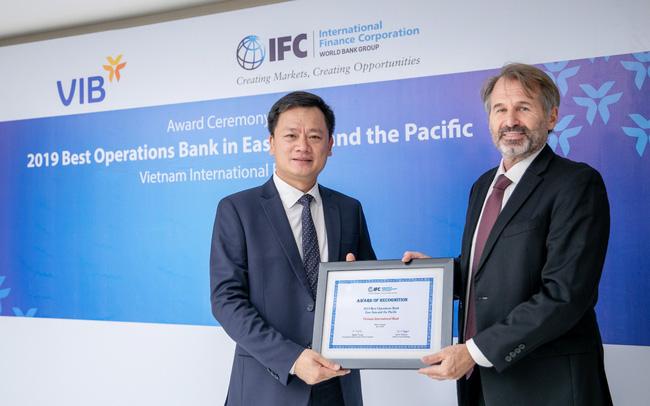 VIB được IFC vinh danh là Ngân hàng phát hành có nghiệp vụ tài trợ thương mại tốt nhất khu vực Đông Á – Thái Bình Dương