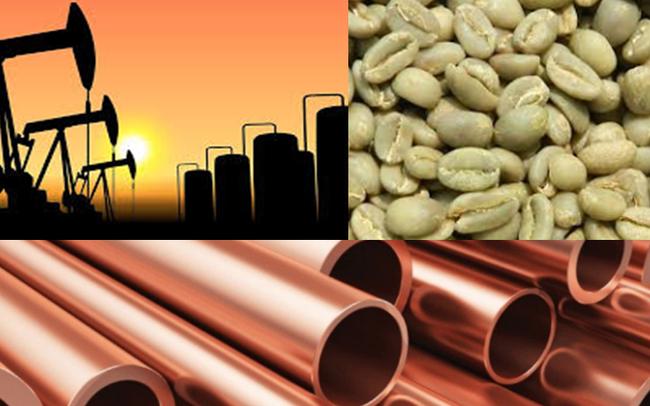 Thị trường ngày 3/6: Giá dầu tăng mạnh lên sát 40 USD/thùng, đồng và cao su cao nhất nhiều tuần