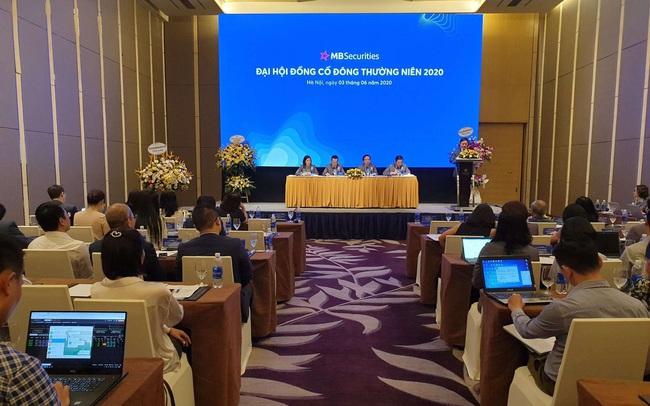 ĐHCĐ MBS: Đặt kế hoạch lãi trước thuế 200 tỷ đồng, tập trung tìm kiếm đối tác chiến lược trong năm 2020