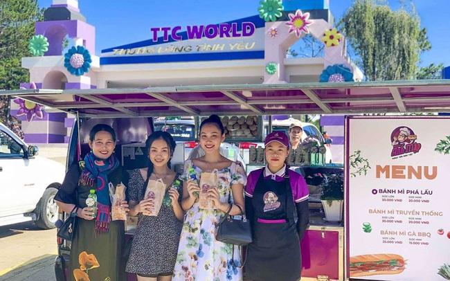 Tập đoàn của ông Đặng Văn Thành mở chuỗi xe bánh mì
