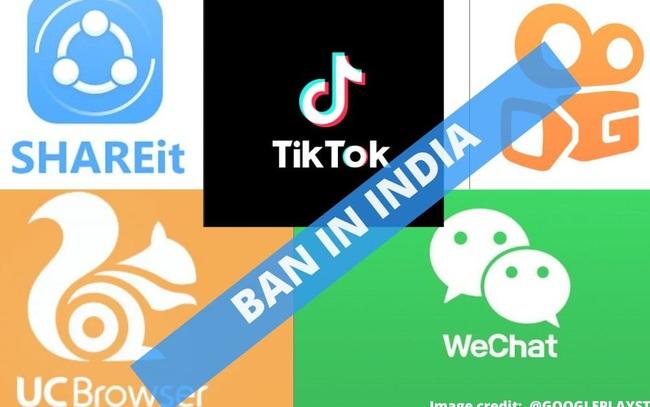 Ấn Độ tiếp tục chơi rắn với Trung Quốc, cấm cửa TikTok và 58 ứng dụng Made in China khác