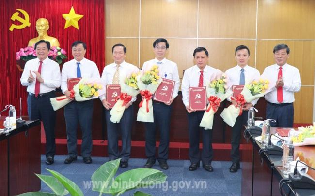 Bình Dương bổ nhiệm lại nhiều Phó Giám đốc Sở