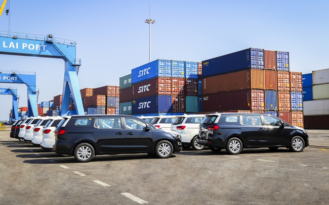 Thaco tiếp tục xuất khẩu ô tô qua Thái Lan, dự kiến cả năm đạt 560 xe