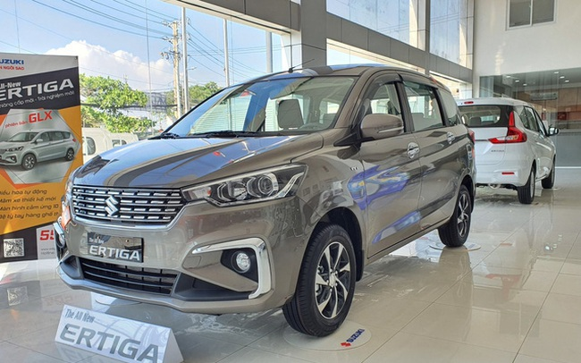 Suzuki Ertiga đại hạ giá: Chưa đến 460 triệu đồng, rẻ nhất phân khúc, tạo sức ép cho Mitsubishi Xpander