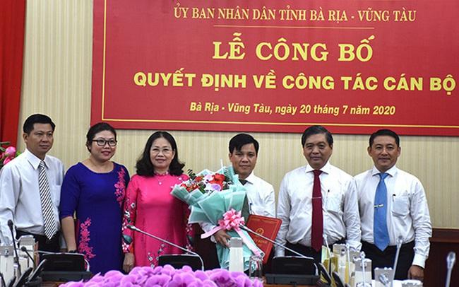 Bà Rịa - Vũng Tàu có tân Chánh văn phòng UBND tỉnh