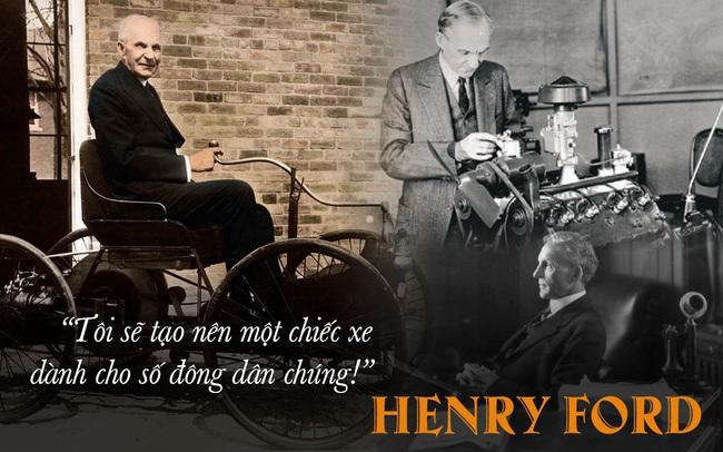 """""""Ông vua xe hơi"""" Henry Ford và hành trình đáng kinh ngạc: Xóa sổ xe ngựa, đưa thế giới sang kỷ nguyên ô tô!"""