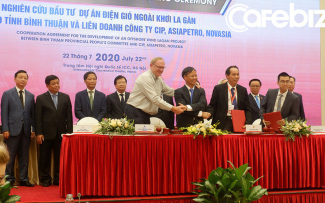 4 dự án đầu tư về năng lượng trị giá hơn 20 tỷ USD đã được ký kết