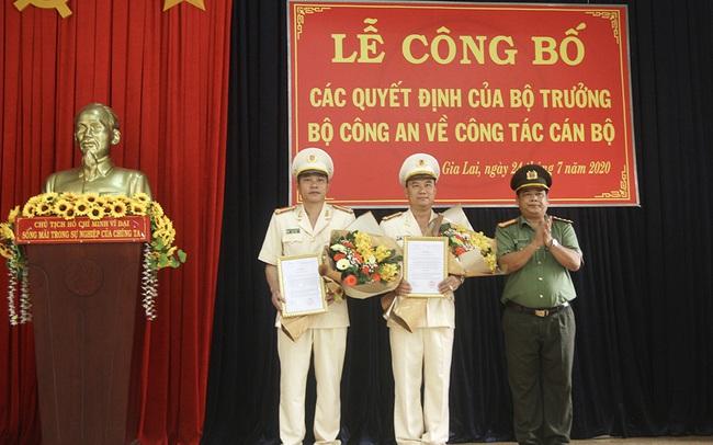 Công an tỉnh Gia Lai có 2 Phó giám đốc mới