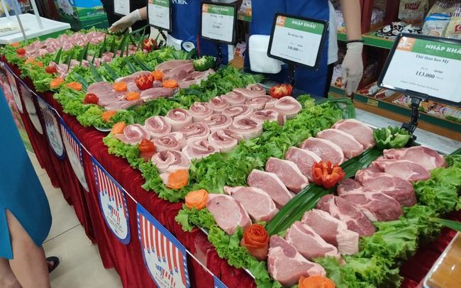 Chính thức có Tuần lễ thịt heo Mỹ tại Việt Nam, người dân được mua thịt heo Mỹ giá rẻ ở 50 siêu thị từ 24/7