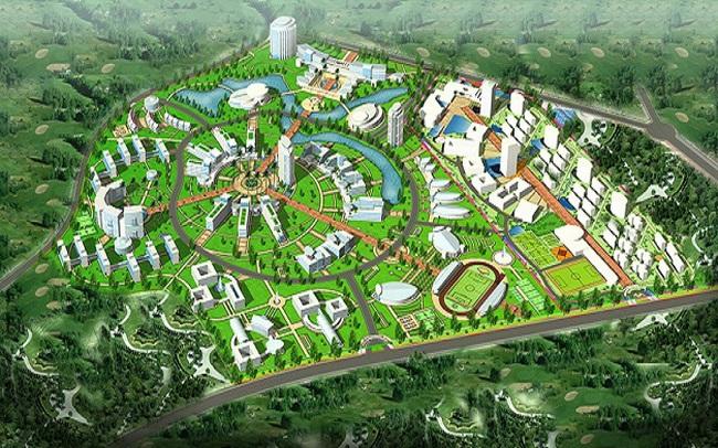 Siêu đô thị vệ tinh Hòa Lạc hơn 17.000ha có những gì?