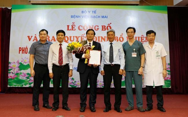 Bệnh viện Bạch Mai có thêm Phó Giám đốc