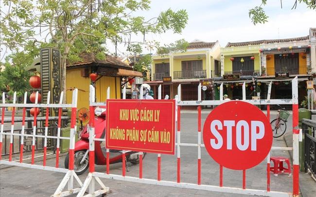 Quảng Nam cách ly xã hội thêm 5 huyện, thị xã từ 1/8