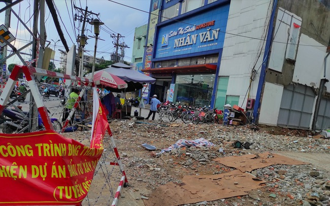 Tuyến Metro số 2 Bến Thành -Tham Lương: Đền bù 150 triệu/m2, nhiều hộ dân chê thấp