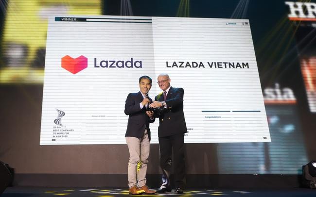 """Lazada là nền tảng TMĐT duy nhất được vinh danh """"Nơi làm việc tốt nhất Châu Á năm 2020"""" tại Việt Nam"""