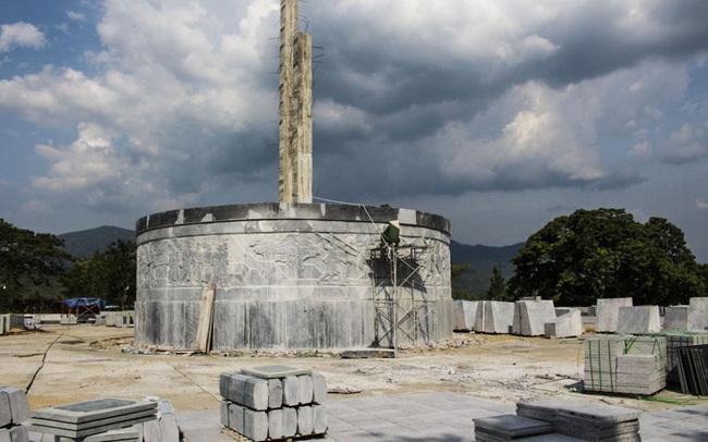 Huyện miền núi Bình Định gấp rút hoàn thành tượng đài 48 tỷ đồng