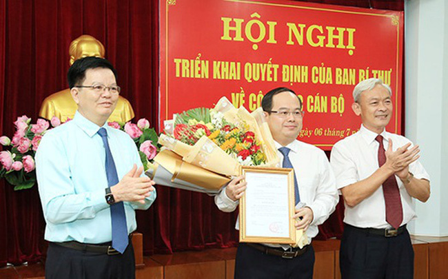 Ông Quản Minh Cường giữ chức Phó Bí thư Tỉnh ủy Đồng Nai