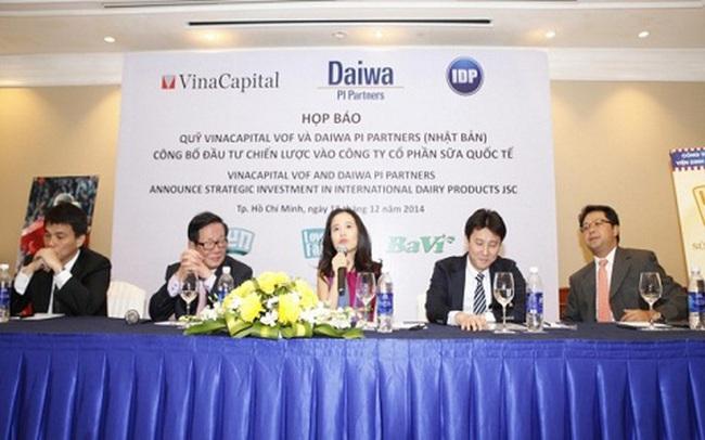"""Lỗ lớn sau 5 năm hiện diện của VinaCapital và """"phù thủy"""" Trần Bảo Minh, Sữa Quốc tế (IDP) sắp đổi chủ"""