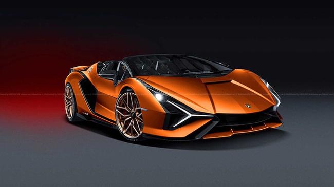 Teaser xe Lamborghini mới gián tiếp xác nhận xe sắp ra mắt là siêu phẩm mui trần