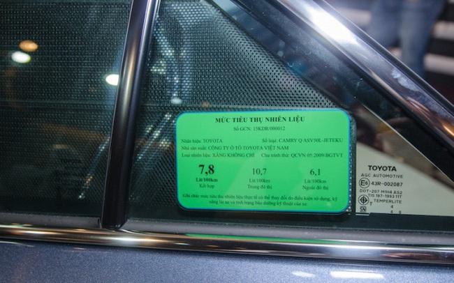 Từ 1/1, xe máy phải dán nhãn năng lượng như ôtô