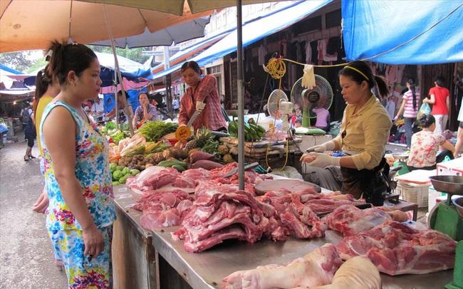 Giá thịt lợn đang giảm dần trước Tết Nguyên đán