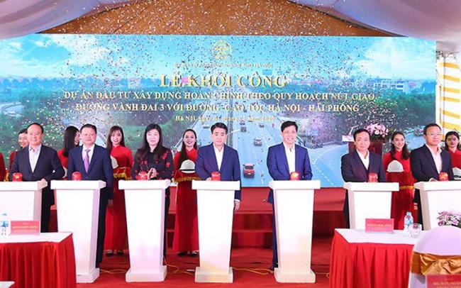 Đầu tư hơn 402 tỷ làm đường nối Vành đai 3 với cao tốc Hà Nội- Hải Phòng