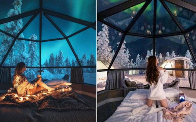 Khách sạn có view đắt giá nhất thế giới chính là đây: Nhà kính 360 độ tha hồ cho khách ngắm Bắc cực quang đẹp như một giấc mơ
