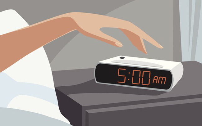 Trâu chậm uống nước đục: Thức dậy từ 5 giờ sáng mỗi ngày để thành công sớm hơn những người thích nuông chiều bản thân