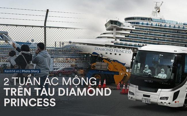 """Hai tuần bị cách ly của Diamond Princess: Từ du thuyền xa hoa trở thành """"ổ dịch"""" virus corona lớn thứ nhì thế giới"""