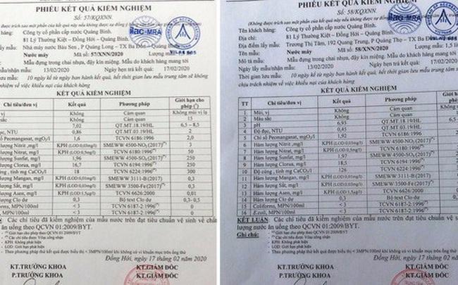 """""""Vòi rồng"""" phun nước đen ngòm ở Quảng Bình: Đã có kết quả xét nghiệm"""