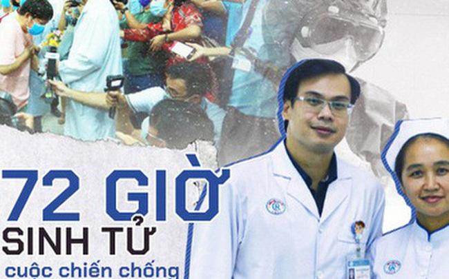 """72 giờ sinh tử trong cuộc chiến đầu tiên chống virus Corona tại Việt Nam của """"30 anh hùng thời bình"""""""