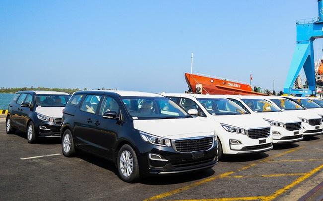 Trường Hải, VinFast, TC Motor, Mitsubishi đưa ô tô Việt vượt biển lớn, 'tấn công' mọi thị trường từ ASEAN đến Mỹ và châu Âu