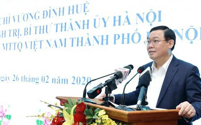 Bí thư Hà Nội Vương Đình Huệ: Chống dịch Covid-19, chúng ta phải xác định bảo vệ được Hà Nội là bảo vệ được cho cả nước