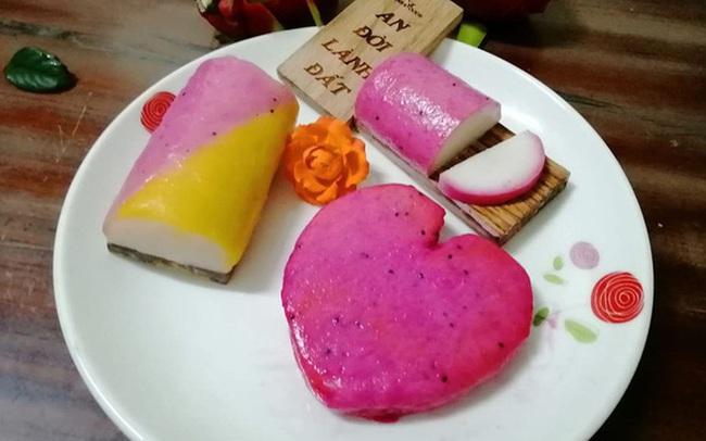Sau bánh mì thanh long, bún dưa hấu, nay có thêm chả cá thanh long: Chất lượng tương đương chả cá kamaboko Nhật Bản, nhưng giá rẻ bằng 1/10