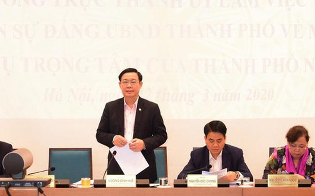 """Bí thư Thành ủy Hà Nội: """"Thường trực, Ban Thường vụ Thành ủy luôn sát cánh, ủng hộ, tạo điều kiện thuận lợi nhất để các lãnh đạo, cán bộ làm việc thật tốt"""""""