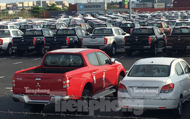 Bất chấp dịch Covid-19, hơn 10.000 ô tô vẫn cập cảng Việt Nam